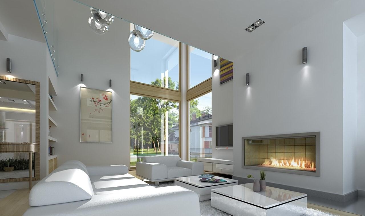 Wnętrze domu Riwiera 5 odbicie lustrzane