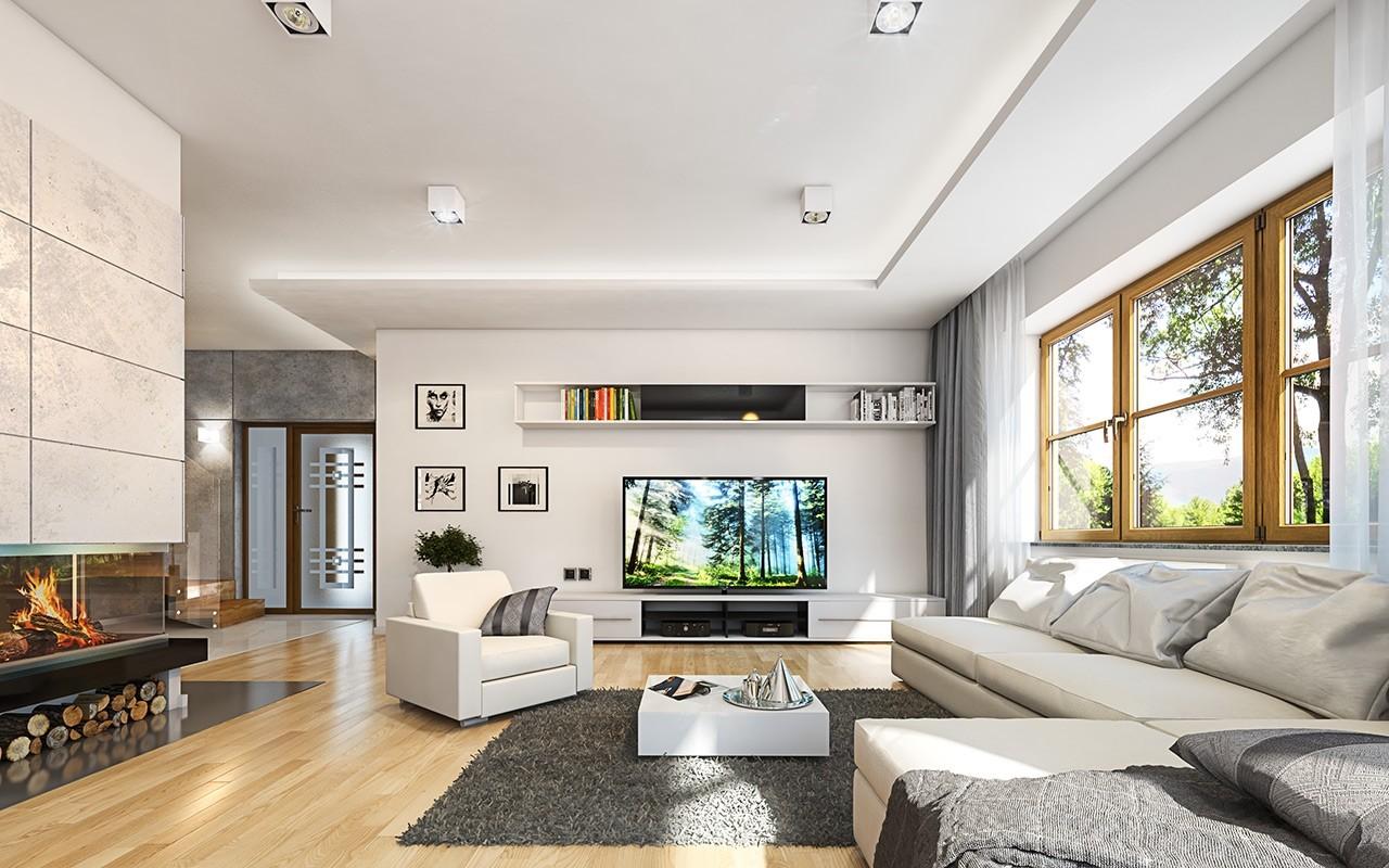 Wnętrze domu Turkus