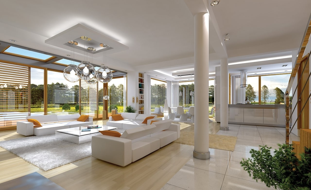 Wnętrze domu Vertigo