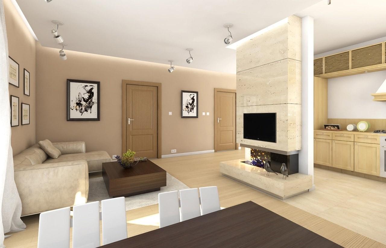 Zosia 2 - wnętrze domu odbicie lustrzane