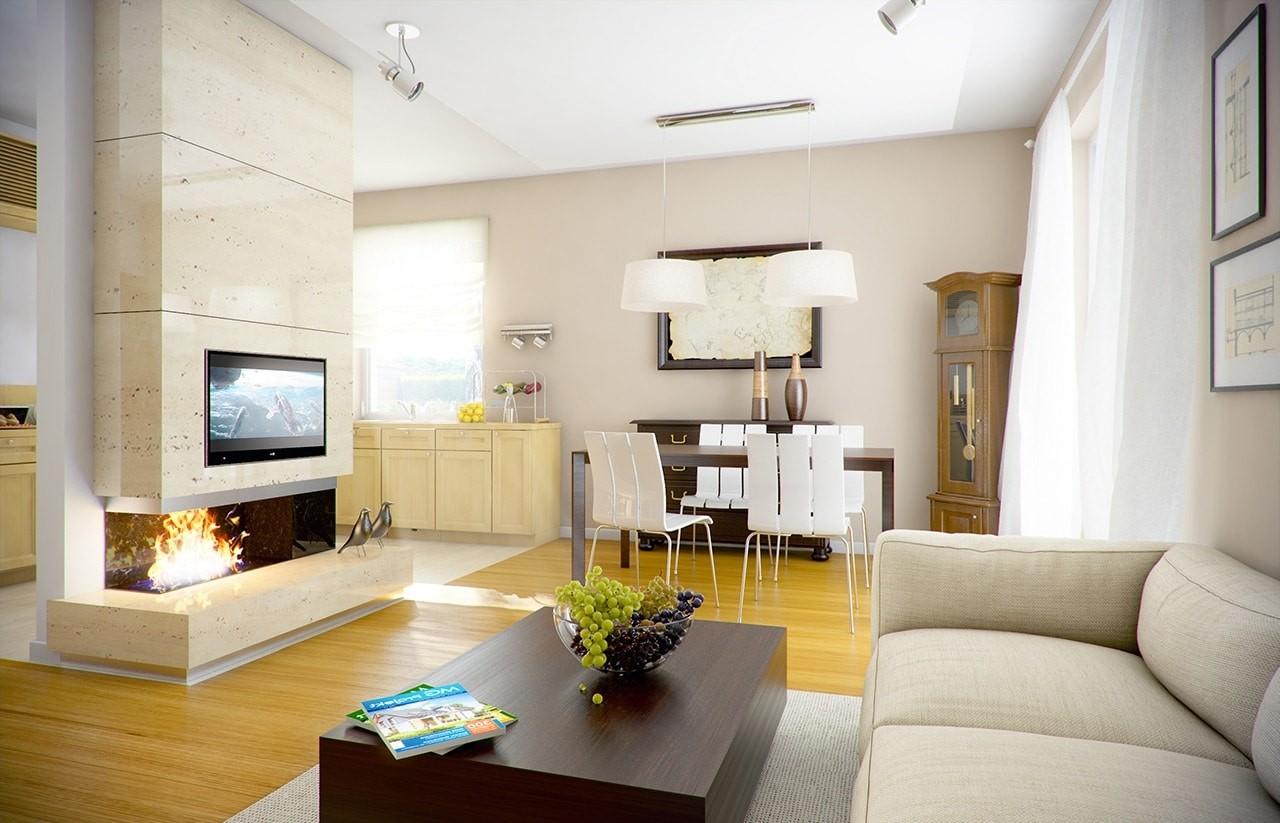 Zosia - wizualizacja wnętrza odbicie lustrzane