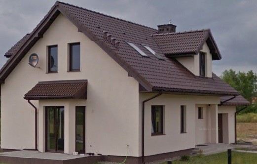 Realizacja domu Zgrabny z lukarnami