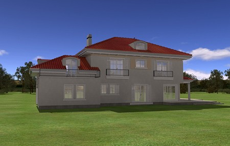 Animacja - projekt domu Malibu