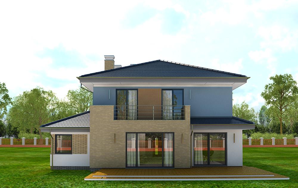 Animacja - Projekt domu Szmaragd 5