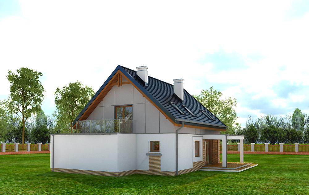 Animacja - Projekt domu Albatros 2