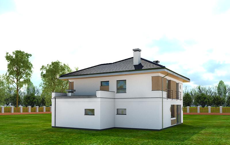 Animacja - Projekt domu Tytan 4