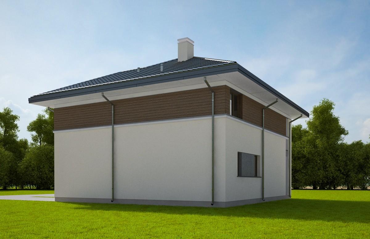 Animacja - Projekt domu Tytan 2