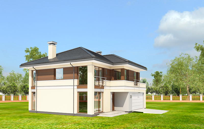 Animacja - Projekt domu Tytan 3