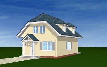 Animacja - Projekt domu Adaś