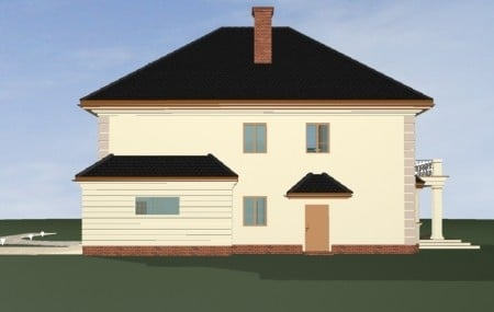 Animacja - projekt domu Agat