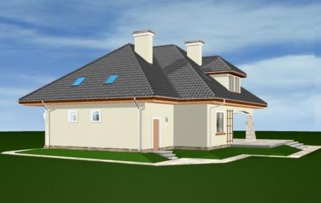 Animacja - Projekt domu Agnieszka 2