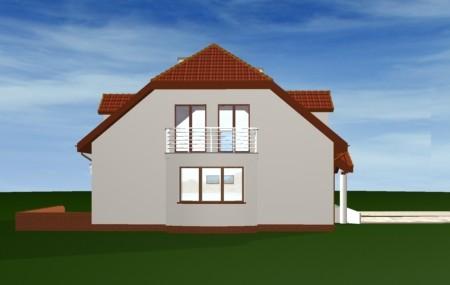 Animacja - Projekt domu Akacjowy