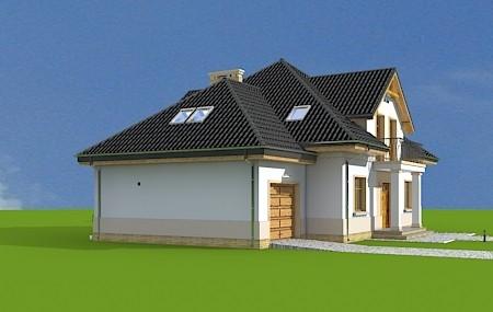 Animacja - projekt domu Amanda