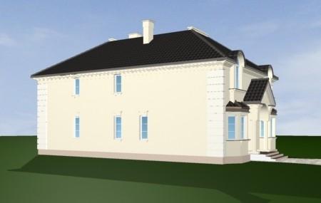 Animacja - projekt domu Ambasador 3