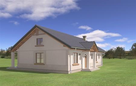 Animacja - projekt domu Anatol