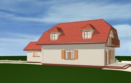 Animacja - Projekt domu Pierwszy dom 2