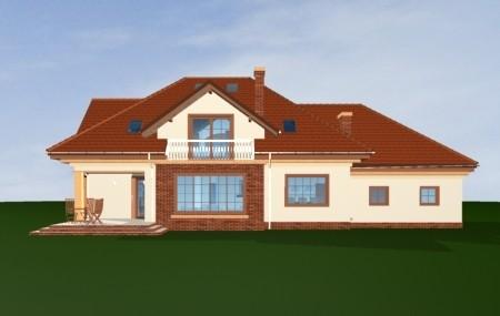 Animacja - projekt domu Benedykt 5