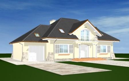 Animacja - Projekt domu Benedykt 3