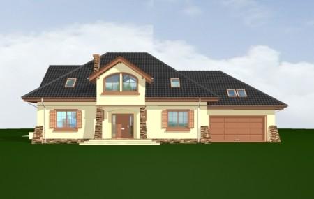 Animacja - Projekt domu Benedykt 4