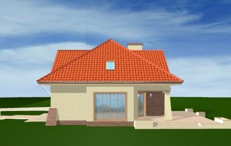 Animacja - projekt domu Benedyk 2