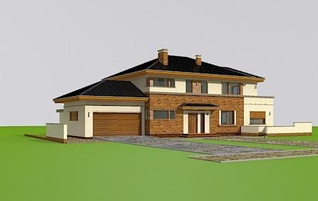 Animacja - projekt domu Verona