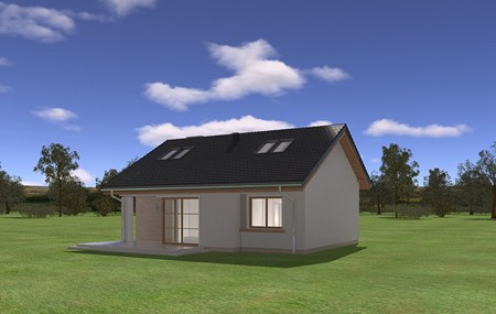 Animacja - projekt domu Bonifacy