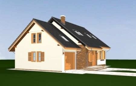 Animacja - Projekt domu Bryza