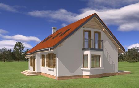 Animacja - projekt domu Bryza 2