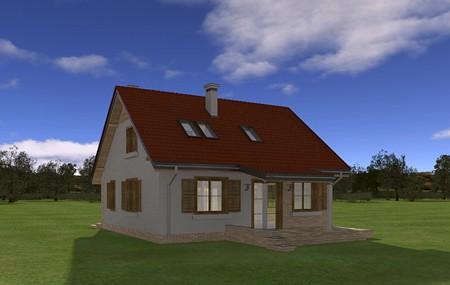 Animacja - projekt domu Bryza 3