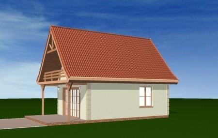 Animacja - Projekt domu Chatka