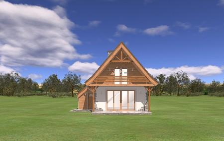 Animacja - projekt domu Chatka 2