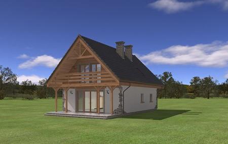 Animacja - Projekt domu Wisełka