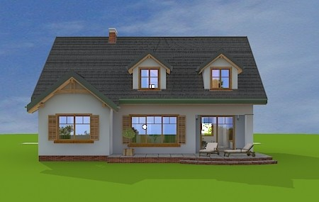 Animacja - projekt domu Cukiereczek