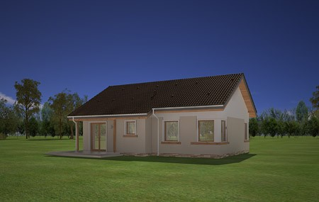 Animacja - projekt domu Cypisek 2