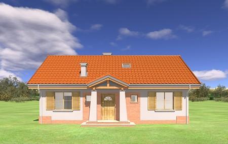 Animacja - projekt domu Niezapominajka