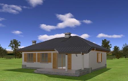 Animacja - projekt domu Cztery kąty 4