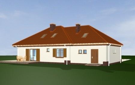 Animacja - Projekt domu Cztery kąty  3