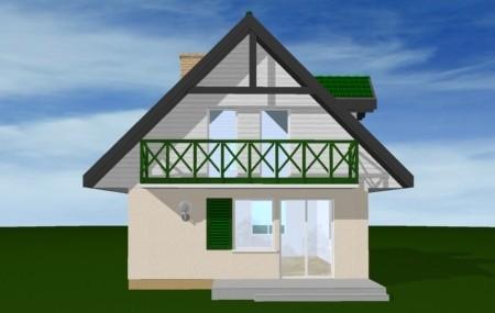 Animacja - Projekt domu D03