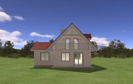 Animacja - projekt domu Alicja