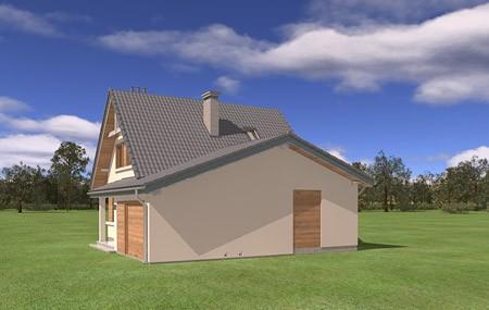 Animacja - projekt domu Amelia