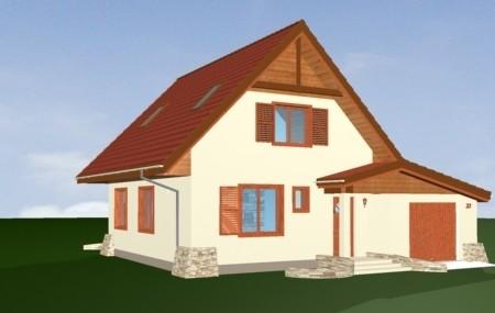 Animacja - Projekt domu D03 z garażem