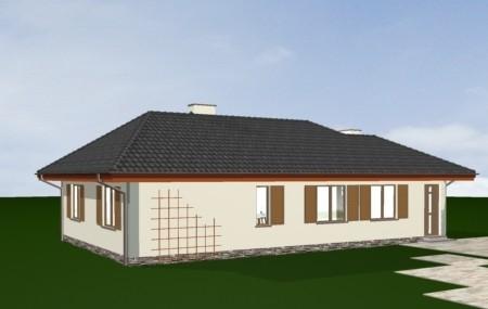 Animacja - Projekt domu D05