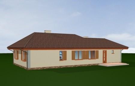Animacja - Projekt domu D05 z garażem