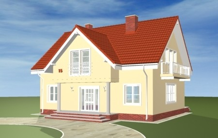 Animacja - projekt domu Miodowe lata