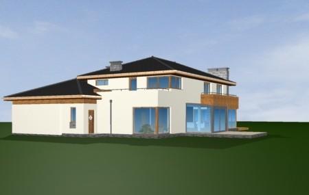Animacja - projekt domu Południowy