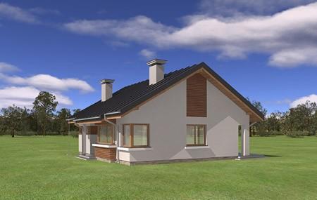 Animacja - projekt domu Dom dla trojga