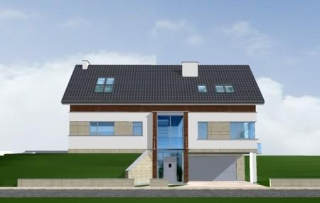 Animacja - Projekt domu Dom na górce