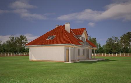 Animacja - Projekt domu Luka