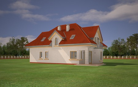 Animacja - projekt domu Weronika