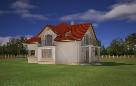 Animacja - Projekt domu Amadeusz